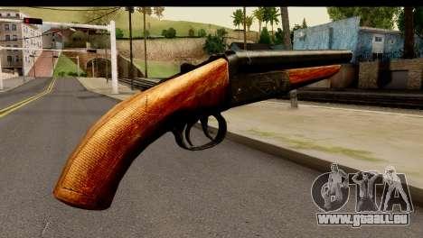 Sawnoff Shotgun HD für GTA San Andreas zweiten Screenshot