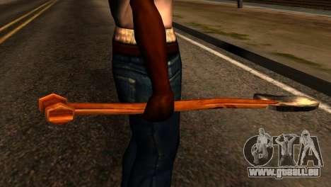 Shovel from Redneck Kentucky pour GTA San Andreas troisième écran