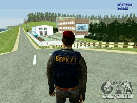 Le Contremaître De L'Aigle pour GTA San Andreas troisième écran