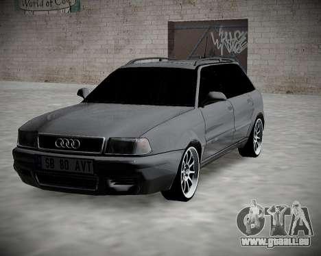 Audi 80 B4 Avant BAN.RF pour GTA San Andreas vue arrière