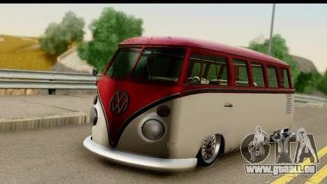 Volkswagen Transporter T1 Stance für GTA San Andreas