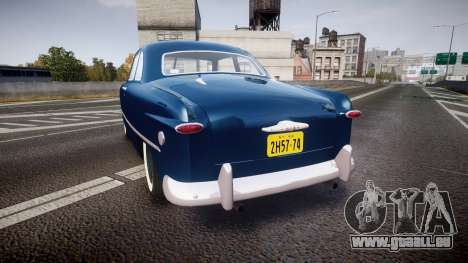 Ford Custom Club 1949 für GTA 4 hinten links Ansicht