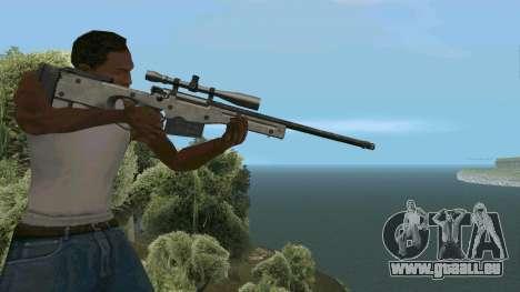 Metall AWP L96A1 für GTA San Andreas