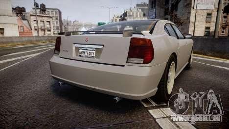 Bravado FBI Buffalo Restyling für GTA 4 hinten links Ansicht
