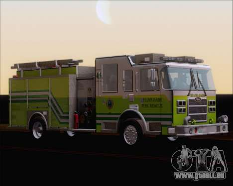 Pierce Arrow XT Miami Dade FD Engine 45 pour GTA San Andreas laissé vue