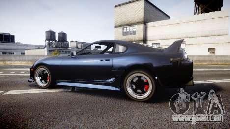 Toyota Supra Tuned pour GTA 4 est une gauche