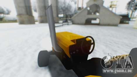 Tractor Kor4 für GTA San Andreas linke Ansicht