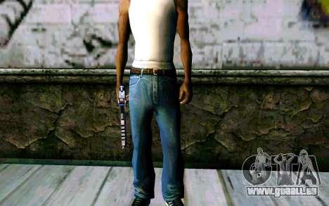 Blue Dragon Deagle für GTA San Andreas her Screenshot