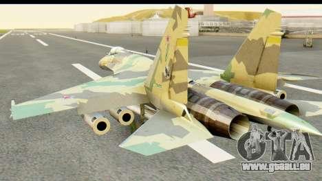 SU-35 Flanker-E ACAH pour GTA San Andreas laissé vue
