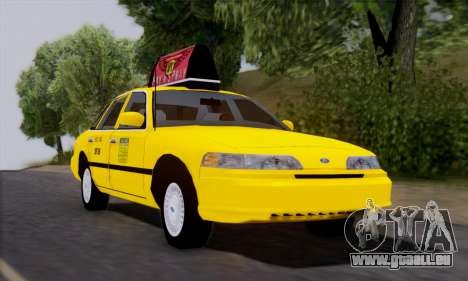 Ford Crown Victoria NY Taxi pour GTA San Andreas