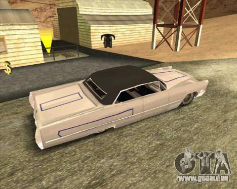 Cadillac DeVille Lowrider 1967 für GTA San Andreas Rückansicht