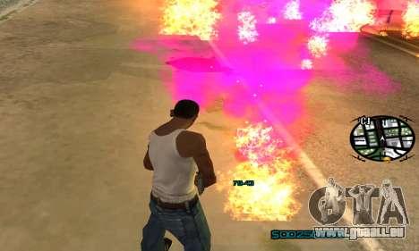 New Pink Effects pour GTA San Andreas sixième écran