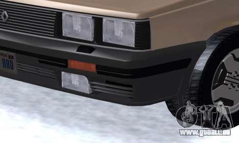 Renault 11 Turbo Phase I 1984 für GTA San Andreas
