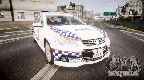 Holden VF Commodore SS Queensland Police [ELS] für GTA 4