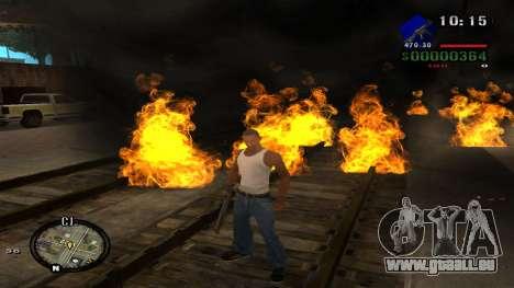 C-HUD by Kidd pour GTA San Andreas septième écran