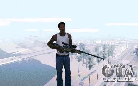 AWP L96 pour GTA San Andreas deuxième écran