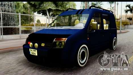 Ford Transit Tourneo Connect Camli Van pour GTA San Andreas