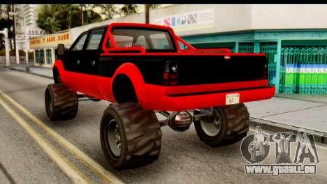 GTA 5 Vapid Sandking XL pour GTA San Andreas laissé vue