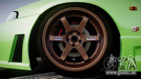 Nissan Skyline BCNR33 JUN VER 1995 v2.0 pour GTA 4 Vue arrière