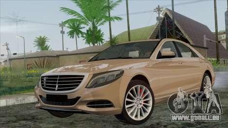Mercedes-Benz S350 W222 2014 für GTA San Andreas