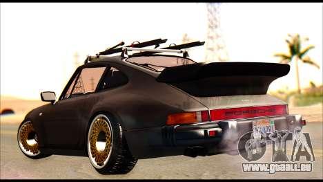 Porsche 911 1980 Winter Release pour GTA San Andreas laissé vue