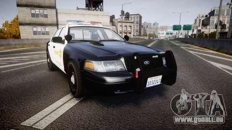 Ford Crown Victoria 2011 LASD [ELS] für GTA 4