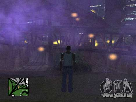 Platz radar von GTA 5 für GTA San Andreas dritten Screenshot