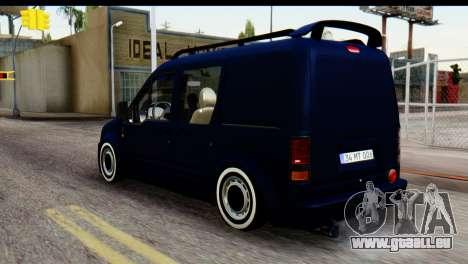 Ford Transit Tourneo Connect Camli Van pour GTA San Andreas laissé vue