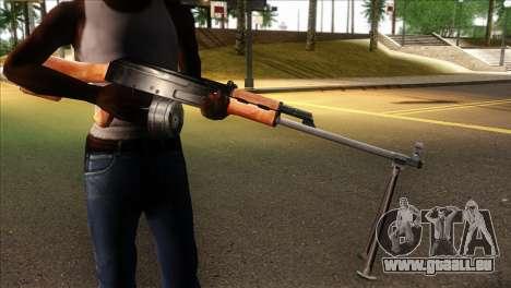 MG from GTA 5 für GTA San Andreas dritten Screenshot
