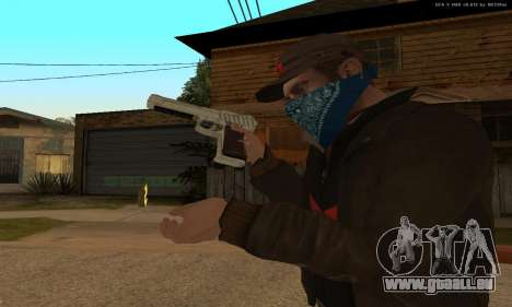 GTA 5 Desert Eagle für GTA San Andreas