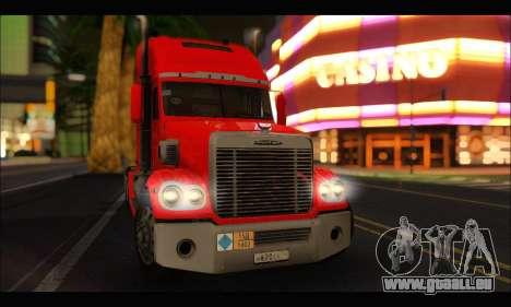 Freightliner Coronado v.2 für GTA San Andreas rechten Ansicht