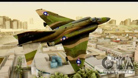 F-4 Vietnam War Camo für GTA San Andreas zurück linke Ansicht