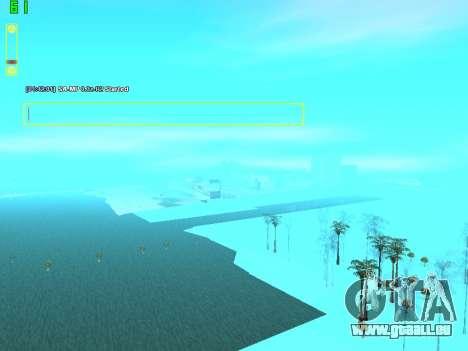 SampGUI Vagos Gang pour GTA San Andreas troisième écran