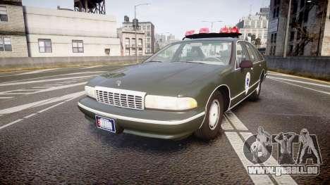 Chevrolet Caprice 1993 Detroit Police pour GTA 4