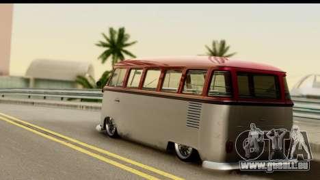 Volkswagen Transporter T1 Stance für GTA San Andreas linke Ansicht
