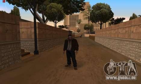 Des Animations à partir de GTA 4 pour GTA San Andreas troisième écran