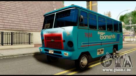 Chevrolet Bus für GTA San Andreas