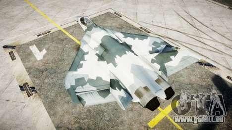 FA-38 camo pour GTA 4 est une gauche