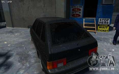 VAZ 2114 pour GTA 4 Vue arrière