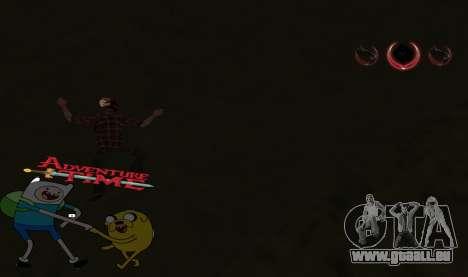C-HUD Jack and Finn pour GTA San Andreas troisième écran