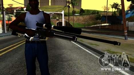 New Sniper Rifle pour GTA San Andreas troisième écran