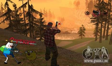 C-HUD Jack and Finn pour GTA San Andreas deuxième écran