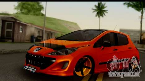 Peugeot 308 ENS Tuning für GTA San Andreas