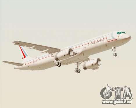 Airbus A321-200 French Government pour GTA San Andreas vue de droite