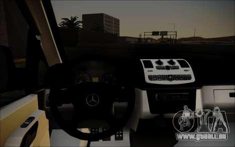 Mercedes-Benz Vito für GTA San Andreas zurück linke Ansicht