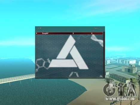 SampGui style Abstrego pour GTA San Andreas