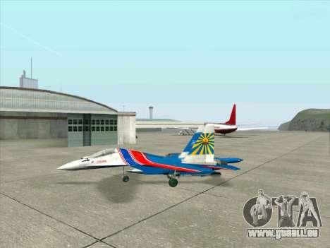 SU-30 MK 2 für GTA San Andreas