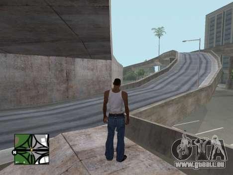 Platz radar von GTA 5 für GTA San Andreas