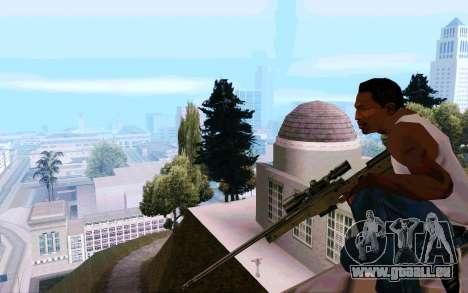 AWP L96 pour GTA San Andreas quatrième écran