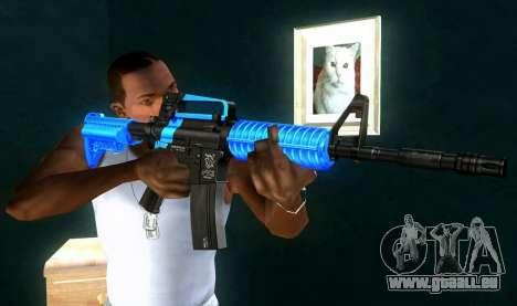 M4 RevoFX pour GTA San Andreas troisième écran